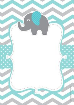 Baby Shower Invitation Background New Pin by Leona Jean Misola On Invitation Ba. Baby Shower Invitation Background New Pin by Leona Jean Misola On Invitation Baby Shower Invitatio Baby Shower Invitations For Boys, Baby Shower Printables, Birthday Invitations, Imprimibles Baby Shower, Baby Shower Invitaciones, Little Elephant, Baby Elephant, Elephant Baby Showers, Baby Boy Shower