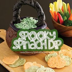 Spooky Spinach Dip | Mommy Tips & Recipes
