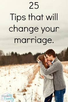 25 tips that will change marriage for the better