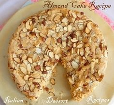 This EASY almond cak