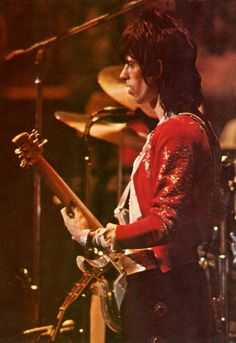 Keith Richards performing at Madison Square Garden - The Rolling Stones' 1969 Tour