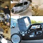 Se llama Rath Racer y puede considerarse tanto una bicicleta híbrida como un coche a pedales. ¿Su originalidad? Consigue que pedalear como lo haríamos con