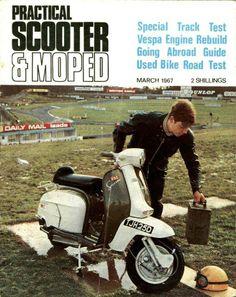 Racing Lambrettas | Arthur Francis Sx 250