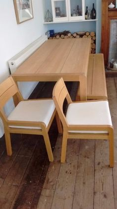 Habitat Radius Dining Table Bench And Chairs