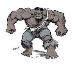Joe Fixit (Dr. Bruce Banner) (Grey Hulk persona)