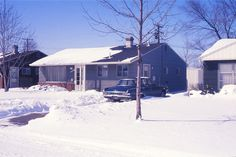 Tract House / Oak Park, Michigan - 1967 | by steveartist