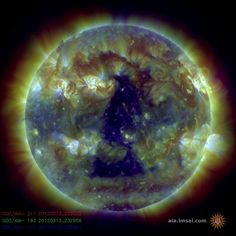 the sun on March 13th 2012