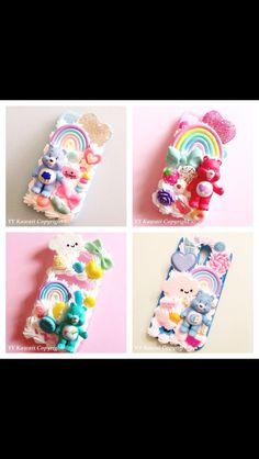 Cute care bear iphone cases!!!