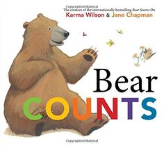 Bear Counts by Karma Wilson - Numbers and counting are so much fun with Bear in the second of a concept picture book series from the New York Times bestselling. Toddler Storytime, Toddler Books, Childrens Books, Early Math, Early Literacy, Early Learning, Numbers Kindergarten, Kindergarten Math Activities, Preschool Math