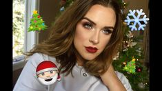 Silver Glitter Holiday Makeup Tutorial  | Jaclyn Hill Palette