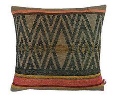 Casa trendy: Cojín de lana y algodón Joanne - multicolor