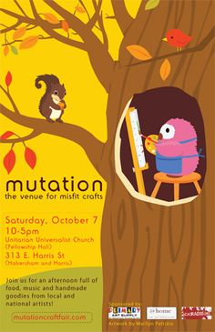 Mutation Craft Fair Poster