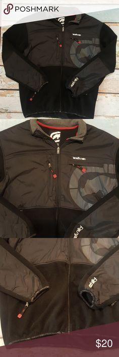 8090f5065b6 Ecko unltd. Fleece Jacket Black Anorak large