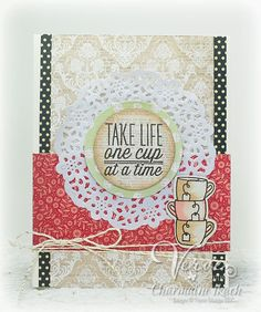 One Cup by Charmaine Ikach - Verve Stamps Inspiration Gallery