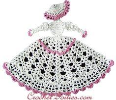 southern belle pattern   ... CRINOLINE LADY CROCHET DOILY PATTERN FREE   Easy Crochet Patterns