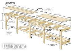 Illustration of workbench