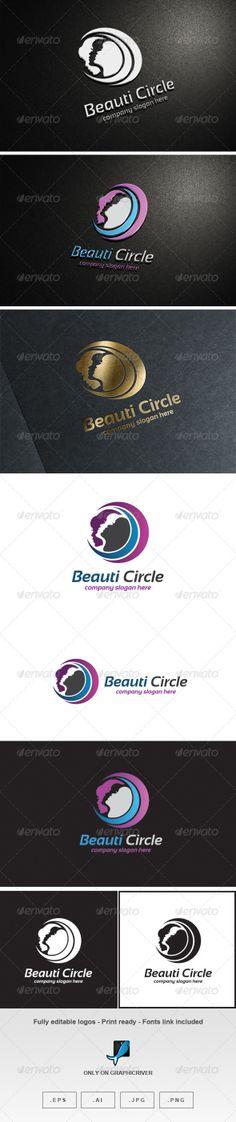 Beauti Circle Logo by Romaa Roma, via Behance