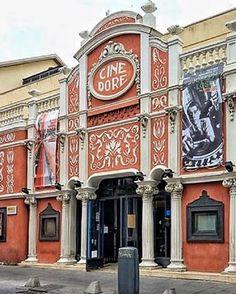 Foto Madrid, Moorish, San Francisco Ferry, Spain, Traveling, Bar, Building, Awesome, Vintage