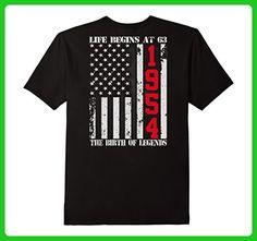 Mens Birthday Gift For 63 Years Old 1954 Tee Shirt Medium Black - Birthday shirts (*Amazon Partner-Link)
