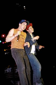 "beeastieboys: "" Beastie boys live in Chicago 1987 """
