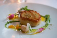Scallop with winter root vegetables at Eleven Madison Park by  @Malini Horiuchi