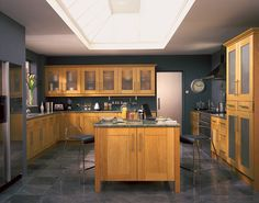 shaker kitchen designs | The Kitchen Gallery :: The Gallery House Collection :: European Shaker ...