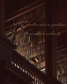 Library Wall, Dream Library, Library Quotes, Hogwarts, My Academia, Different Aesthetics, Slytherin Aesthetic, Brown Aesthetic, Medan