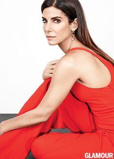 Sandra Bullock revista Glamour -