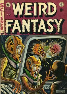 Al Feldstein (1925   2014) September 12 2018 At 12:13AM #raypunk