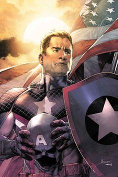 Jay Anacleto - Captain America