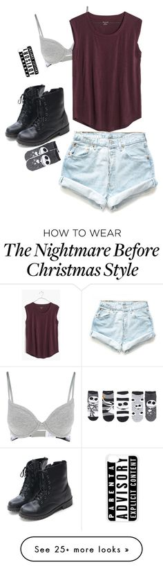 """""""She's just a beautiful girl with the weight of the world on her shoulders"""" by alone77 on Polyvore featuring Calvin Klein, Levi's, Madewell and CellPowerCases"""