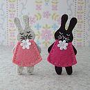 Bunny Brooch Sewing Kit