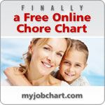My Job Chart - online chore chart... can print out as well