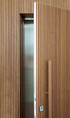 Hidden Door Detail Woods 34 New Ideas Door Design Interior, Interior Windows, Window Design, Hidden Rooms, Door Detail, Bathroom Doors, Wood Interiors, Internal Doors, Wood Doors