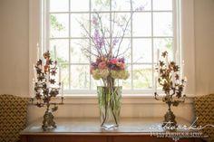 Spring Color Palette Altar Arrangement
