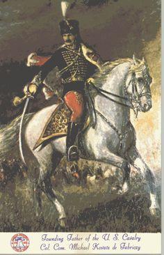 Fabriczi Kovács Mihály (Karcag1724–Charleston1779) huszárezredes, Az Amerikai Függetlenségi Háború Magyar Hőse. Európa egyik legképzettebb lovastisztje, élete során páratlan szaktudását és személyes bátorságát a szabadság eszméjének szolgálatába állította. Kiválóan képzett, vakmerő magyar huszárok egyike. 1777ben ajánlotta fel tudását az Egyesült Államok Kongresszusának. Ő alkotta meg az amerikai lovasság első szabályzatát a magyar könnyűlovasság harcmodorának mintájára.