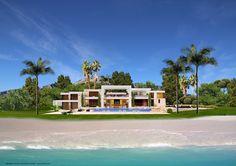 animacad Exterior 3D Marbella La Perla Blanca Vista 12