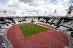 """""""Olympic stadium"""" designed by Populous, London, UK - photo by Steve Bates / LOCOG / getty - seen Sept 6"""