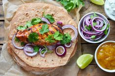 Tacos, Dishes, Chicken, Meat, Ethnic Recipes, Food, Tablewares, Essen, Meals
