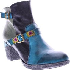 Women's+L'Artiste+by+Spring+Step+Gatehouse+Ankle+Boot+with+FREE+Shipping+&+Exchanges.+The+L'Artiste+Gatehouse+is+stylish+multi-colored+bootie+with+decorative+