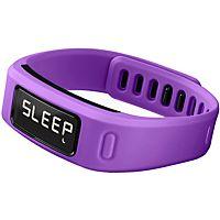 Garmin Vivofit Aktivitetsarmband (lila) 890 kr Vattentätt armband som hjälper dig att uppnå dina träningsmål. Den mäter din dagliga aktivitet som steg, distans, kaloriförbränning, tid och kartläggning av sömn.