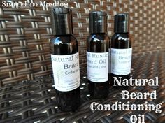 Natural Beard Conditioning Oil - a great gift for men with essential oils - great for beards, or simply as a natural aftershave