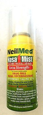 nice NEW - NEILMED NASA MIST SALINE NASAL SPRAY EXTRA STRENGTH 4.2 OZ - For Sale View more at http://shipperscentral.com/wp/product/new-neilmed-nasa-mist-saline-nasal-spray-extra-strength-4-2-oz-for-sale/