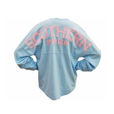 Palmetto Moon | Southern Prep Seersucker Long Sleeve Spirit Jersey | Palmetto Moon - Medium - $47.99