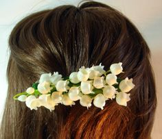 Lily Of The Valley Bridal Hair Clip