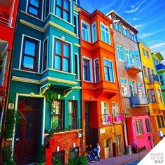 colorful! living there or visiting would make my heart happy!!