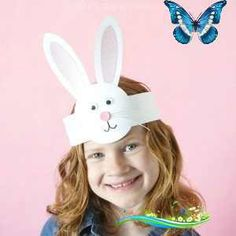Folded Paper Sunflower Craft This DIY Bunny Headband Craft is a simple and perfect Easter craft for kids to make during a playdate, family get-together or for an Easter celebration at school. After making the adorable headband kids can have fun hopping around, pretending to be bunnies and giggling in their cute DIY bunny headband.<br> Gorgeous folded paper sunflower craft that makes a perfect summer kids craft, fun flower crafts for kids and paper crafts for kids. Bunny Crafts, Diy And Crafts Sewing, Crafts For Kids To Make, Easter Crafts For Kids, Crafts For Girls, Craft Kids, Easter Activities, Easter Costumes For Kids, Easy Crafts