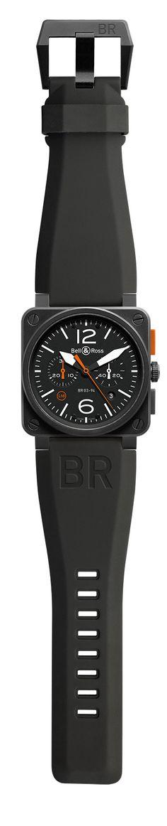 Bell & Ross BR 03-94 Carbon Orange