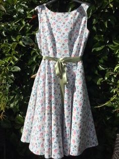 Betty Dress Sewing Pattern - Sew Over It Circle Skirt Dress, Full Circle Skirts, Dress Sewing Patterns, Sewing Ideas, Dance Dresses, Summer Dresses, Sew Over It, Fitted Bodice, Dress Making