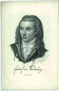 """Novalis (Friedrich Freiherr von Hardenberg) (1772 – 1801) a poet, author and philosopher of early German Romanticism. """"The Hymns to the Night"""" and """"Athenaeum"""" being two of his most well known writings."""
